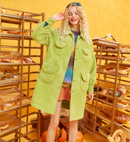 ELFSACK NYファッションウィークスタイルウールコート
